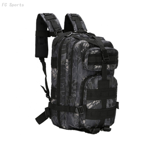 Black Strong Laptop Mountain Backpack Military Tactical Hunting Backpack