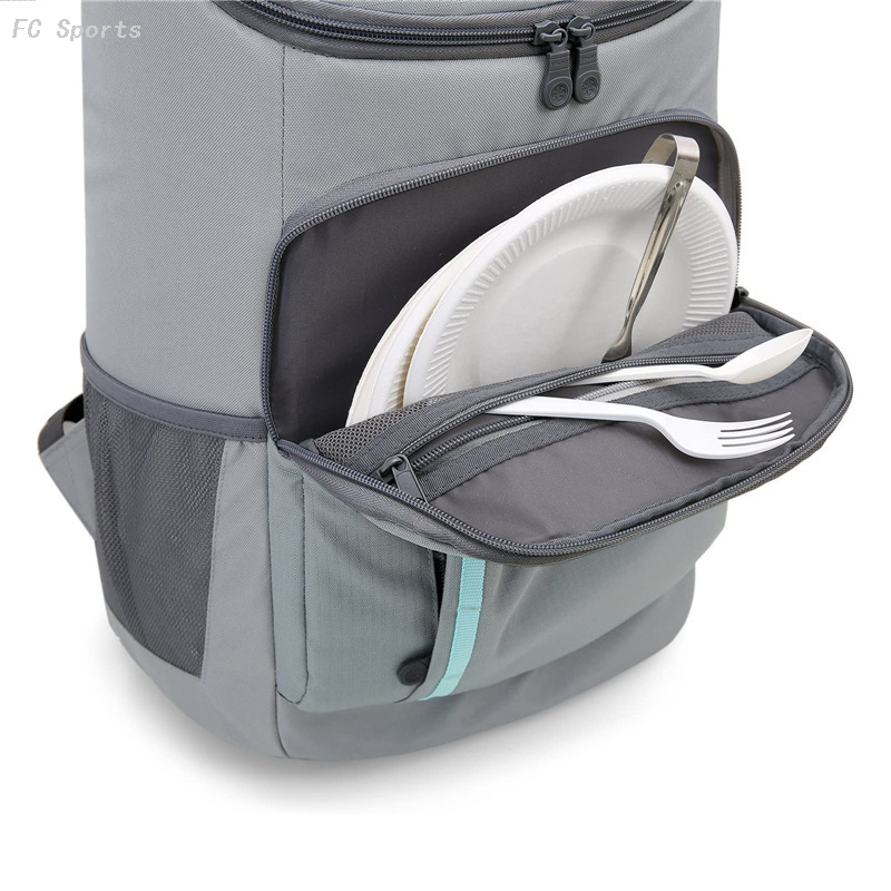 Multi-functional backpack ice wrapped Picnic insulated backpack