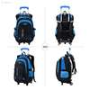 Boys Rolling Backpack Roller Backpack boys trolley School Bag