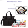 Small Diaper Bag for Women with Insulated Aluminum Foil Pocket Mom's Messenger diaper tote bag
