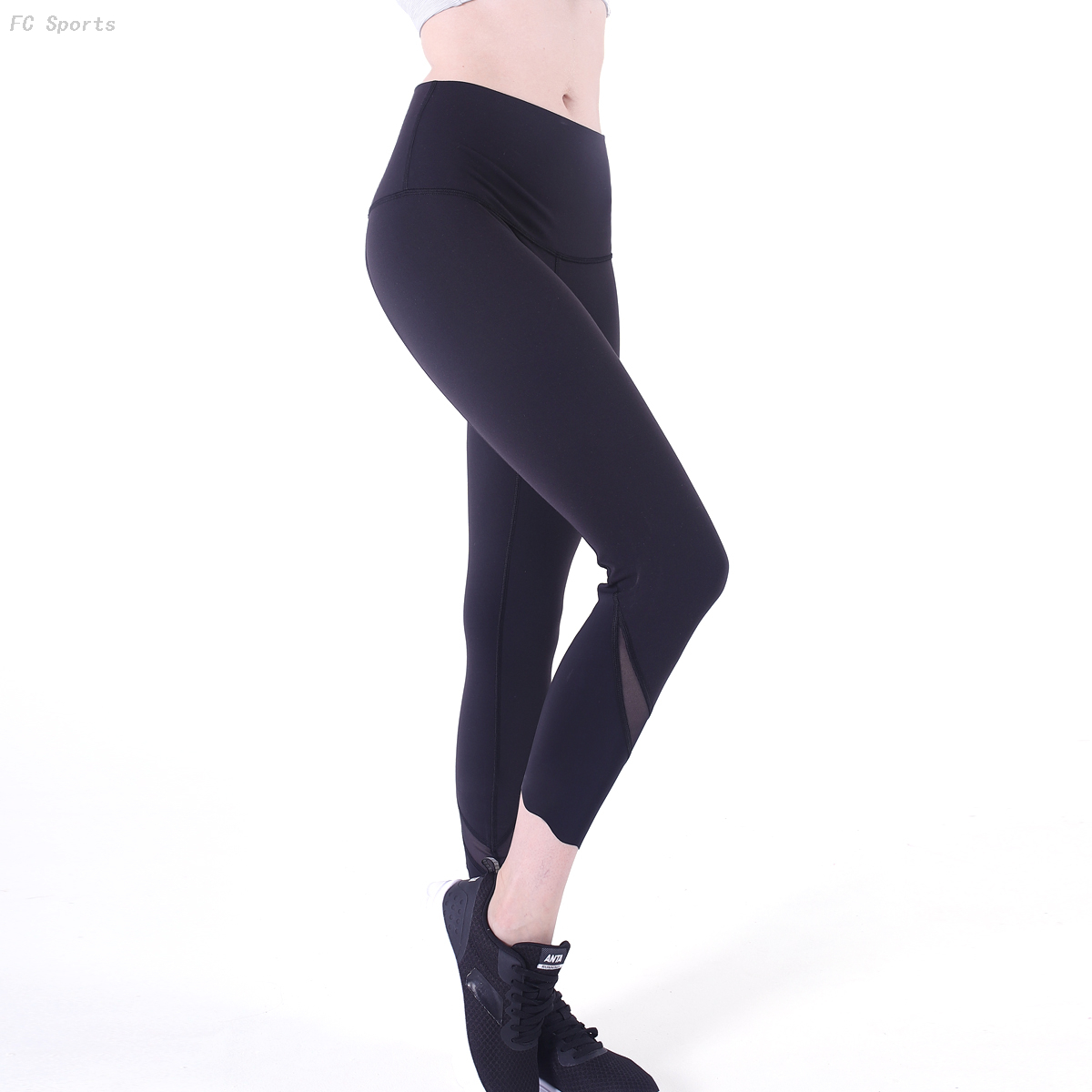 FC Sports Legging Yoga Pants Dry Fit Stretch Breathable Fitness Clothes Active Wear for Women