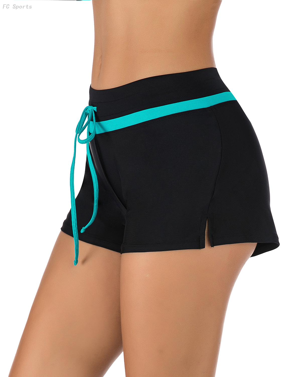FC Sports Solid Swimming Briefs Ladies Bottom Beach Sexy Women Summer Bathing shorts