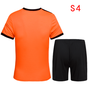 Soccer jerseys shirts and shorts, stock, small MOQ