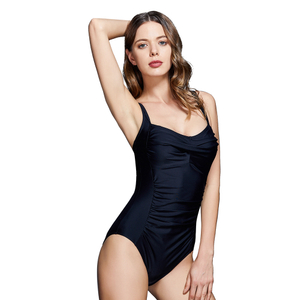 FC Sports Wear Nylon Material Floral Print Bikini Bathing Suit Women One Piece Halter Bikini Solid Push Up Bikini Wirefree Backless