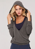 Yoga wear two-piece design, Hooded,breathable & comfortable, fashionable