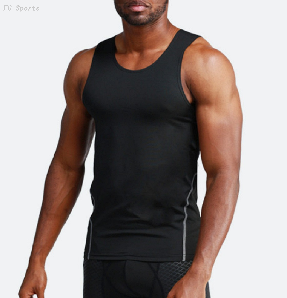 Sports tanks tights vest men training running quick-drying clothes fitness clothing vest