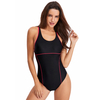 FC Sports 2019 New Monokini Bodysuit Women Sexy Back One-Piece Swimsuit Solid Beachwear