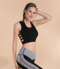 Shockproof Yoga Breathable Hollow Sexy Fitness Gathering Sports Bra